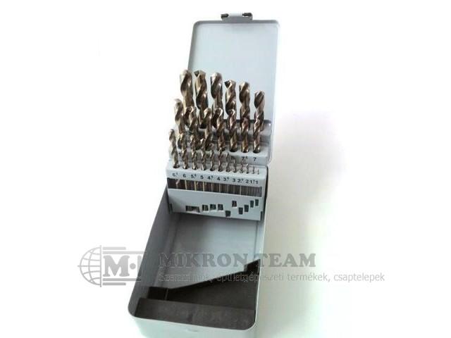 Csigafúró készlet CO    1-10mm